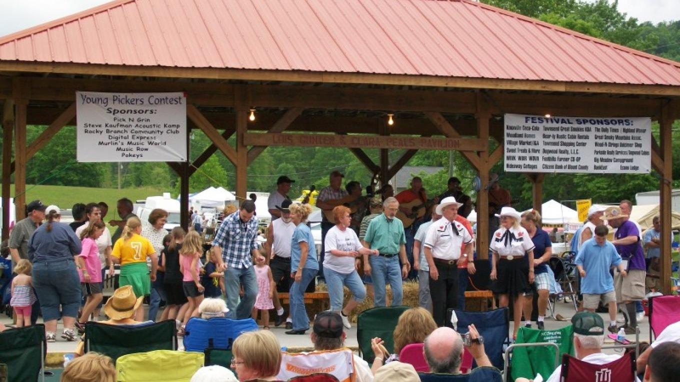 Bluegrass music festival at Townsend Visitors Center. – Townsend Visitors Center
