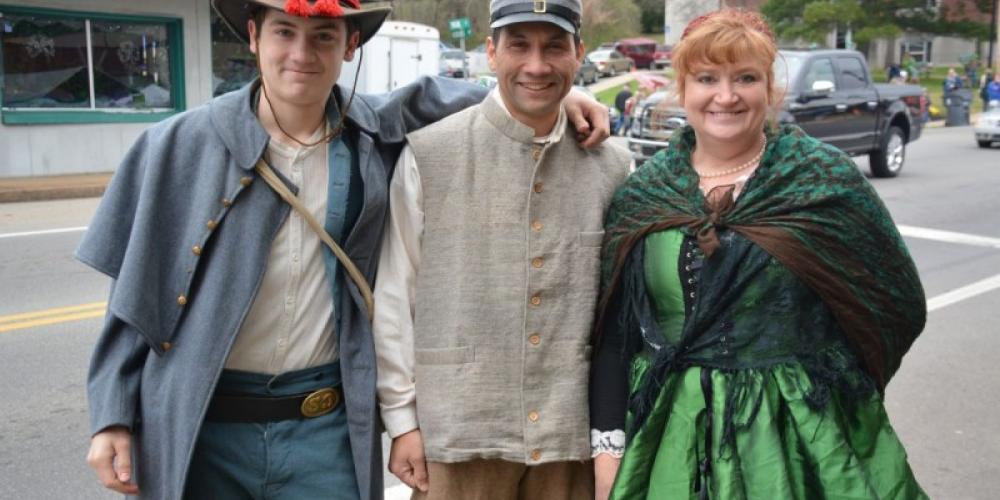Civil War reenactors. – Clarksville Now - Lee Erwin