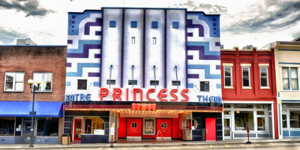 Day time Princess; the central attraction in Harriman, TN. – J. Paul Mashburn