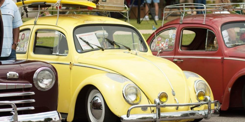 A car and truck show in downtown Tuscumbia is one activity of the Helen Keller Festival. – Jackie Metcalf