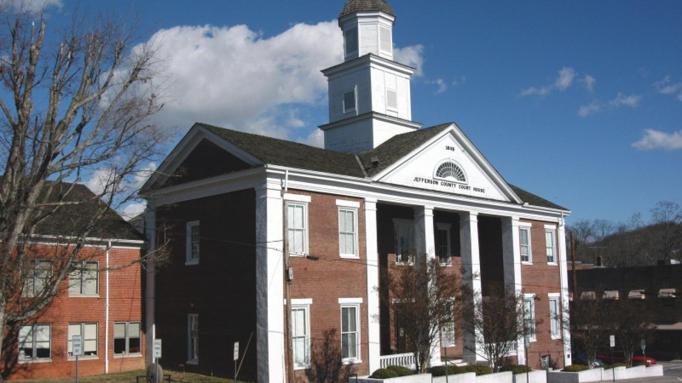 Jefferson County Courthouse and Museum in the heart of downtown Dandridge. – Pat Garrow