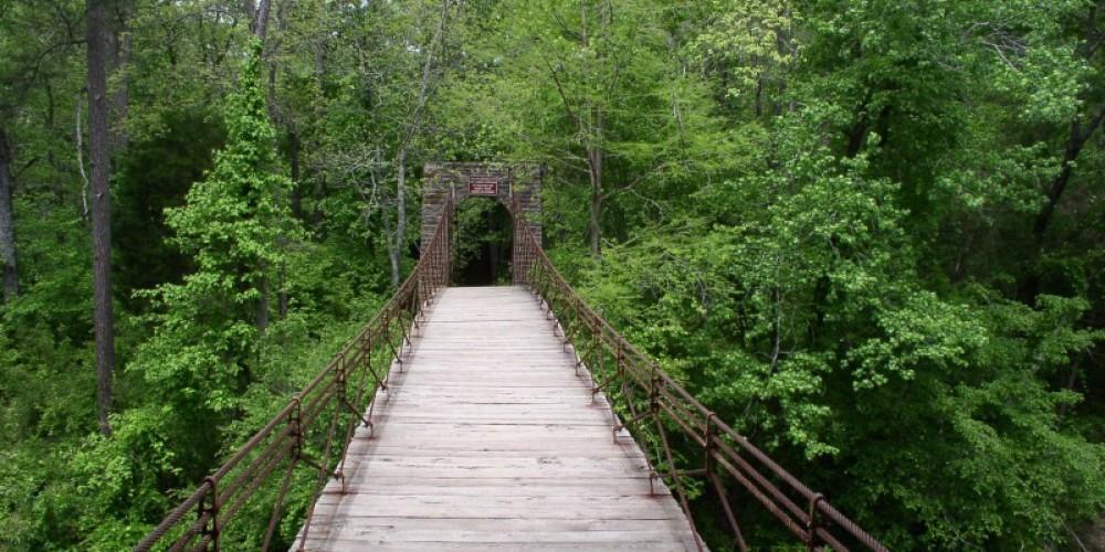 Swinging Bridge – Tishomingo Tourism