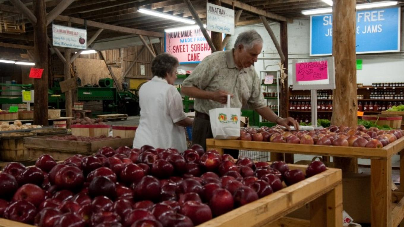 Carver's Orchard - an old timey produce barn with apples, produce in season, jams, jellies and don't forget fried apple pies and ice cream. – molly gilbert