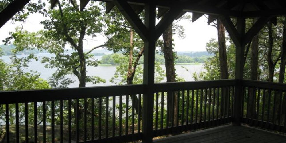 Wildife Shelter overlooking Hiwassee Island – Ray Hoskins