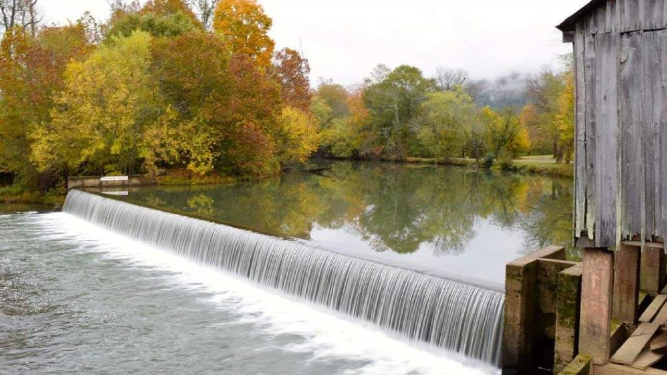 A low-head dam on the Sequatchie River at Ketner's Mill in Marion County, Tennessee has been the site of many drownings throughout the years. – Southeast TN Tourism Association