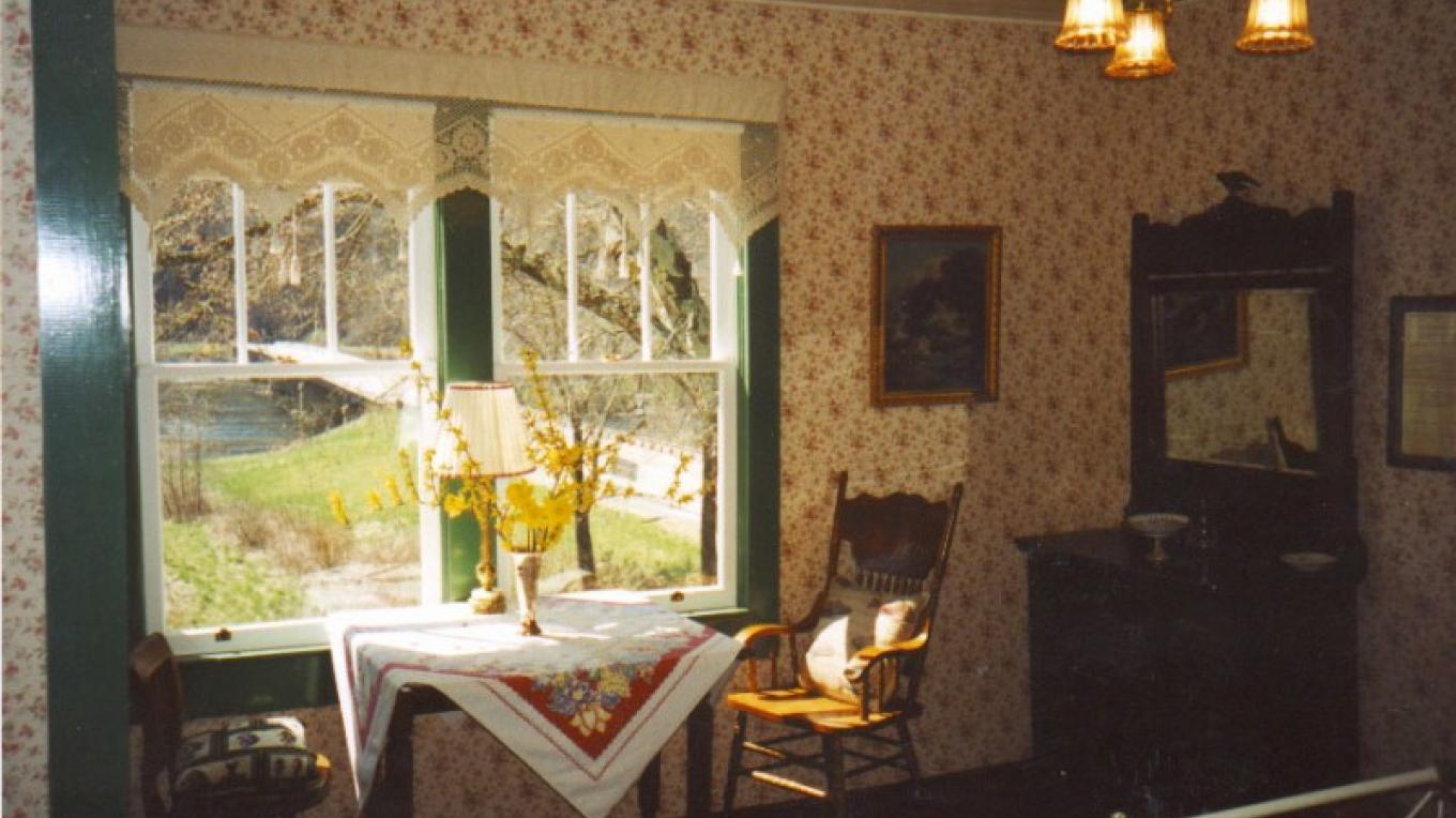 Lodging is available in the historic Watchman's house. – Ingrid Buehler