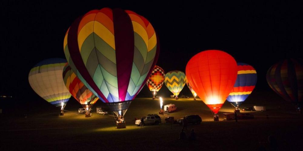 Balloon Glow – Smokey Mountain Tourism