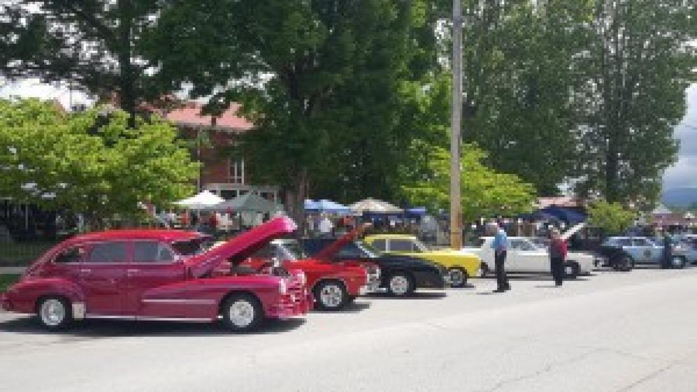 2016 TNMLF Car show – Mountain Laurel Festival