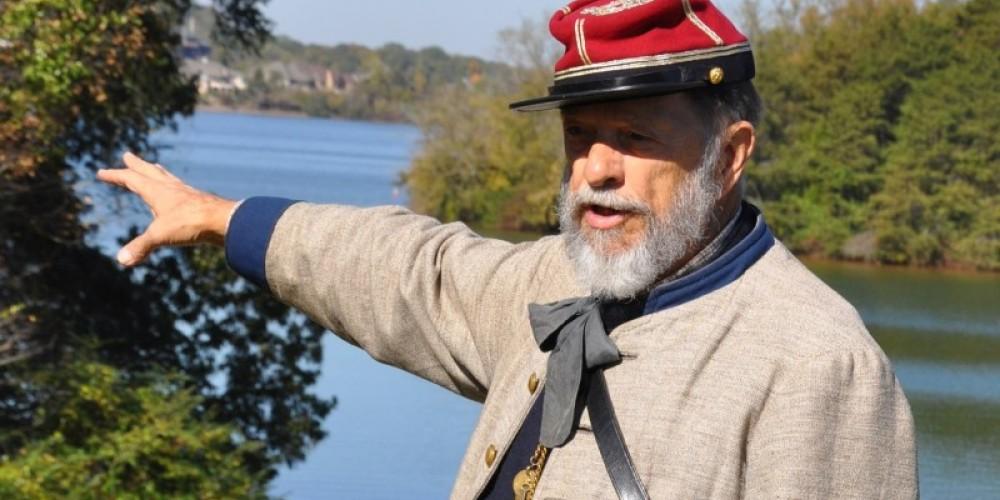 Civil War Historian Gerald Augustus – Klair Kimmey