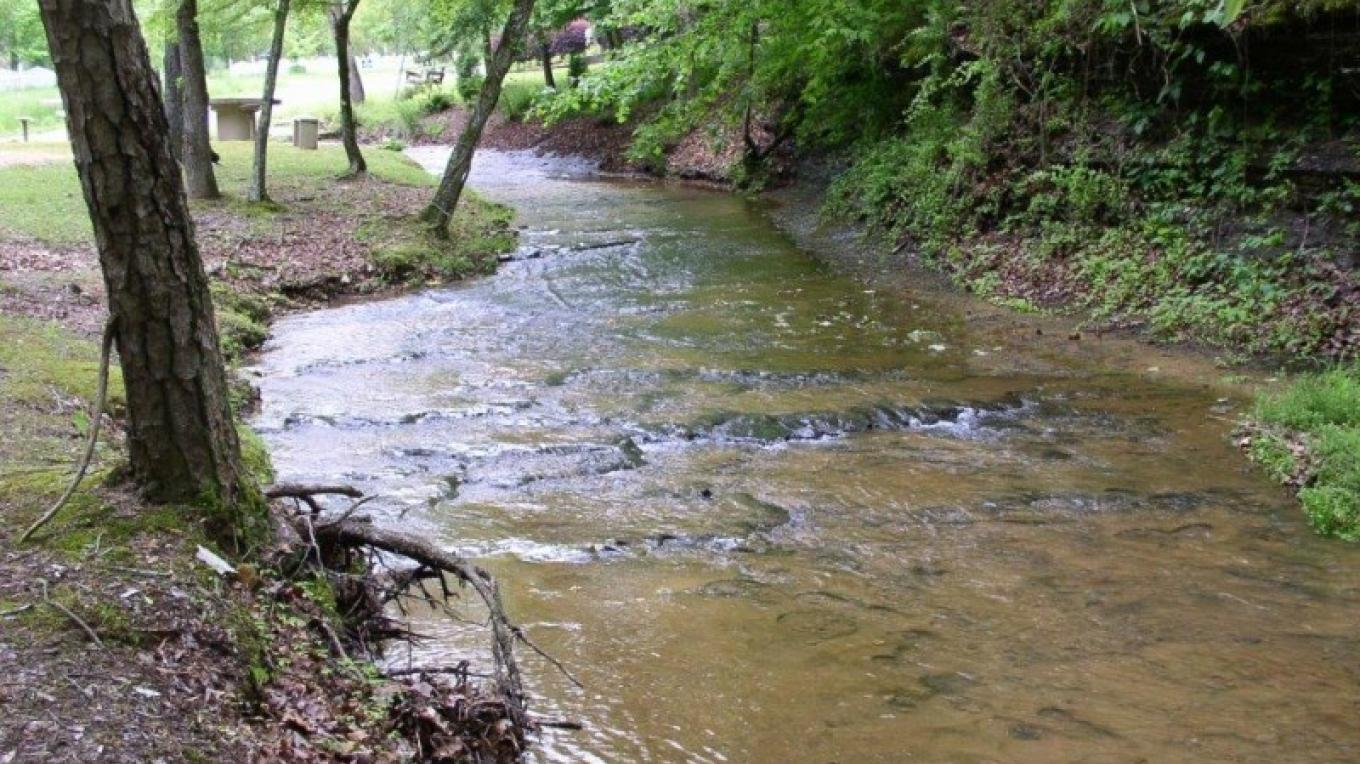 Stream – Courtesy of Tishomingo Tourism