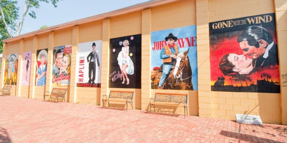 Lyric Theatre Courtyard – Klair Kimmey