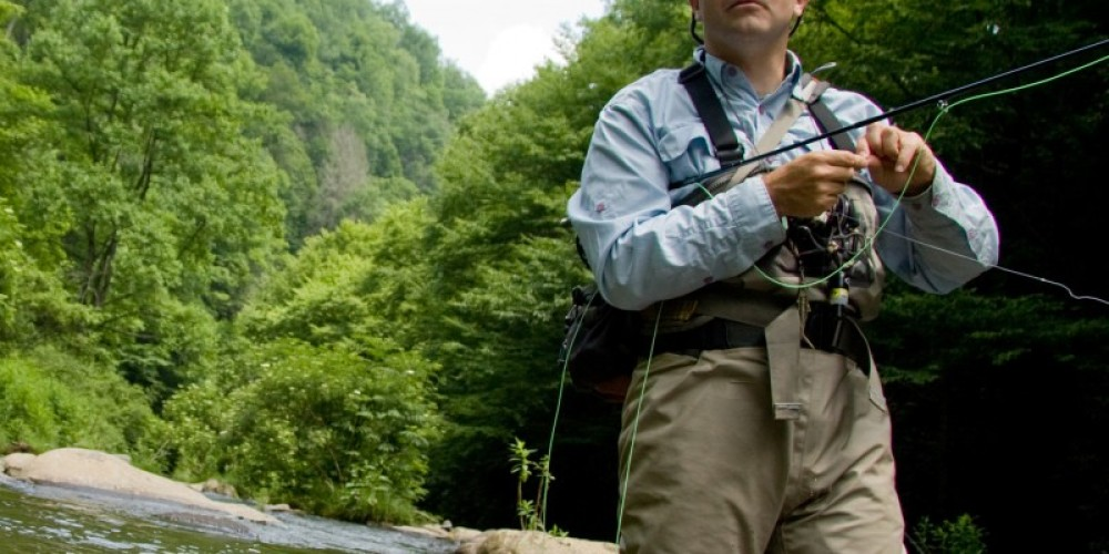 Shop fishing supplies, or book a guided fly fishing excursion. – Pat McDonnell