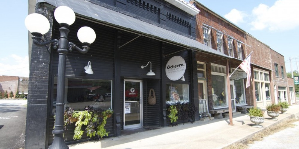 The flagship storefront is located in downtown Elkmont, Alabama – Brad Wiegmann