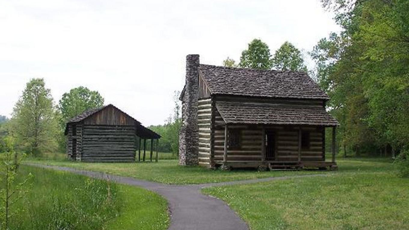 Homestead at Red Clay State Historic Park – State Photo
