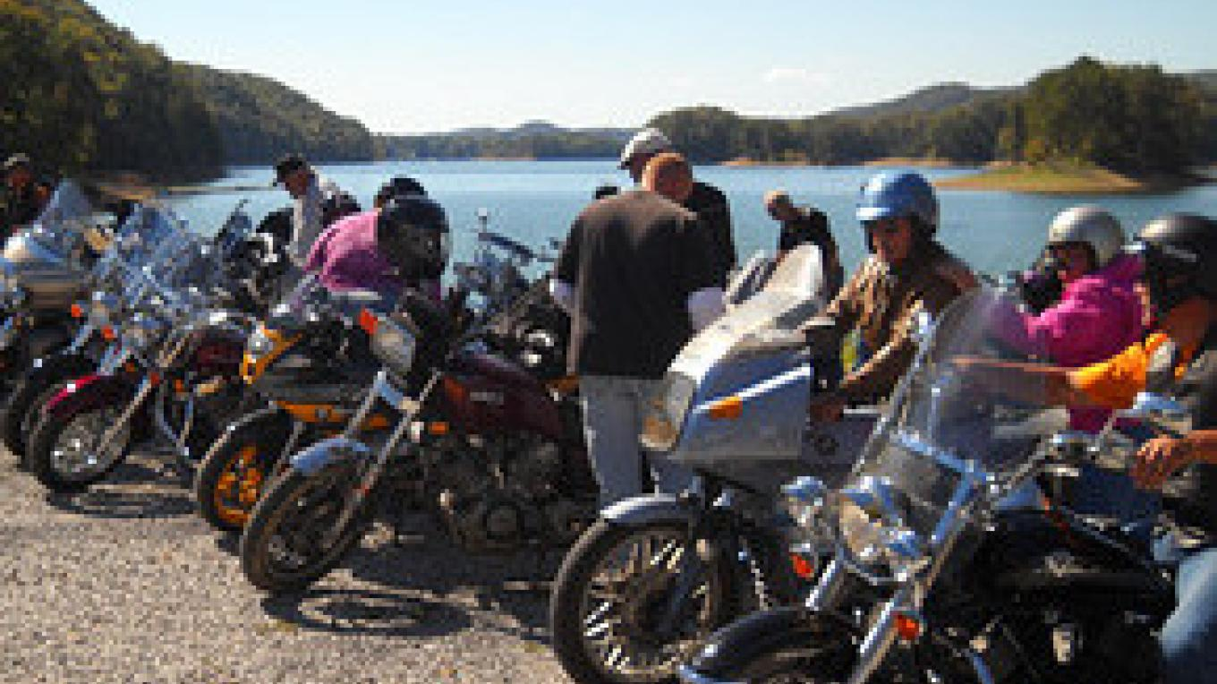 Bikers always welcome! We have motorcycle parking right up front.