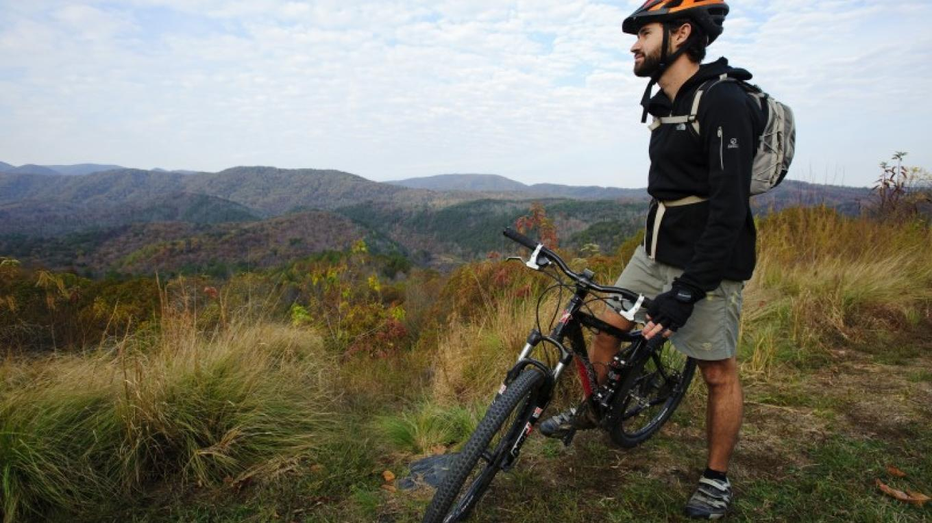 Mountain Biking Tanasi Trail System – TN State Photo Services