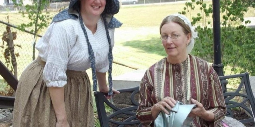 Frequent reenactments and living history events bring history to life for Museum visitors.