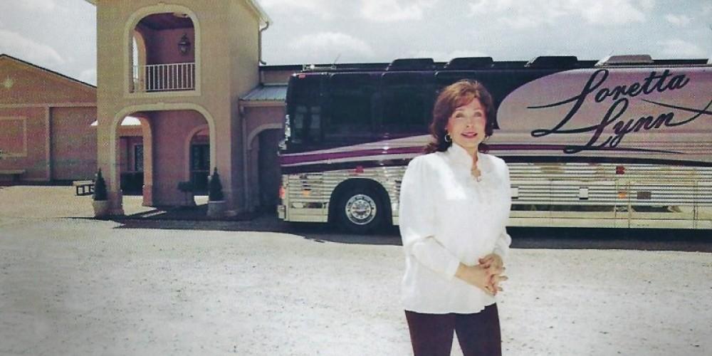 The Loretta Lynn outside her museum – Loretta Lynn Ranch