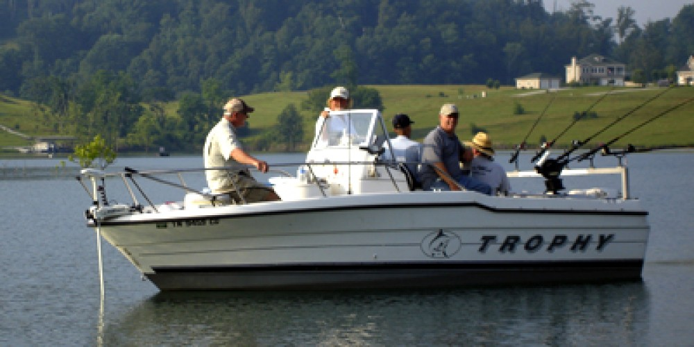 Fishing guide and customers out of Hickory Star Marina – Elizabeth Weiss
