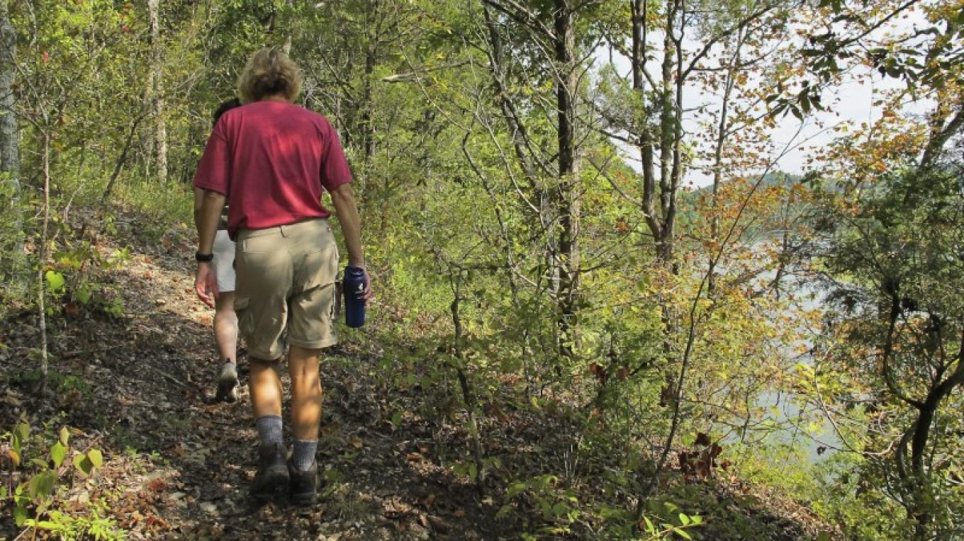 Trail along the Tennessee River at Forks of the River WMA – Elle Colquitt