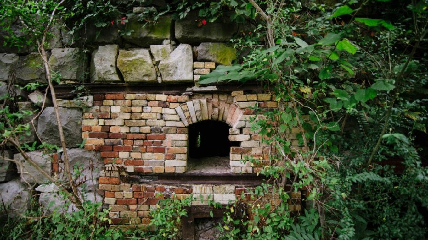 One of four lime kilns in Erin – Cari Griffith