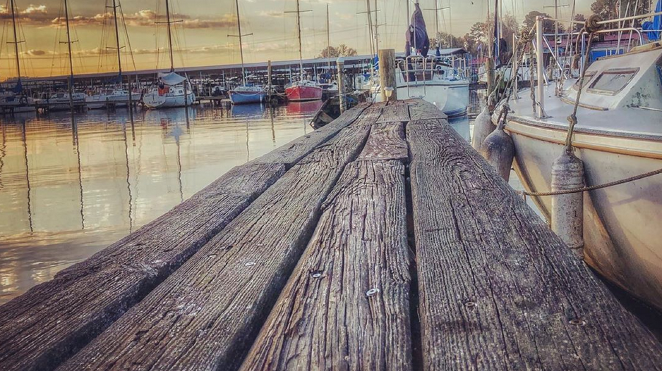 Weathered planks at a marina on beautiful Lake Guntersville. – Justin King- @gvilleking