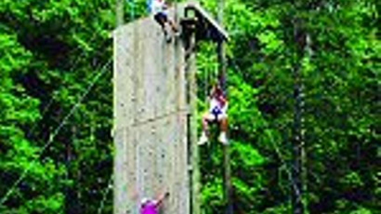 Climbing Wall & Zip Line
