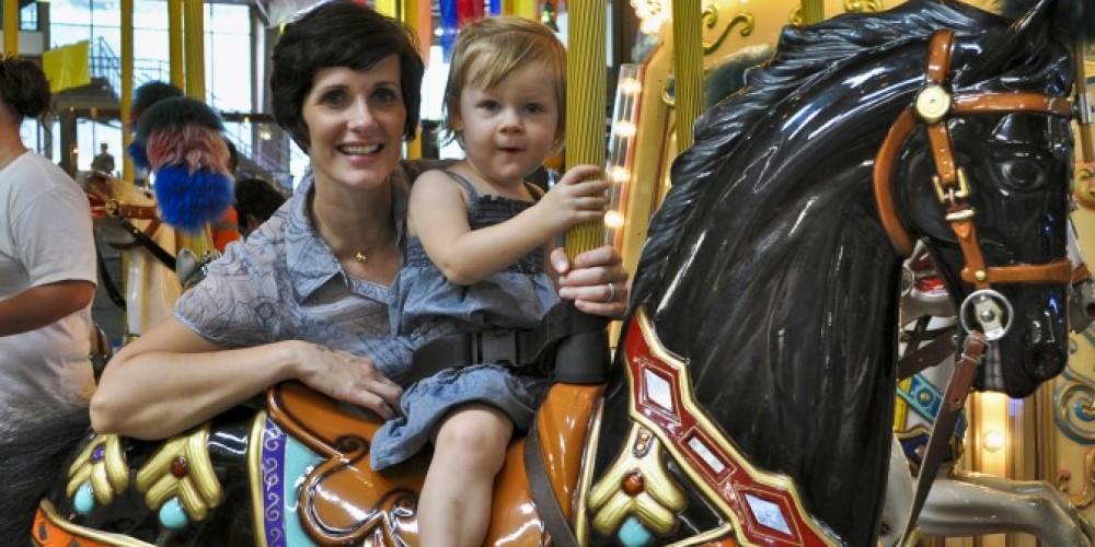 Kids love the carousel! – Ober Gatlinburg