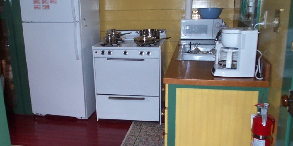 Two of the units have a full kitchen – Ingrid Buehler