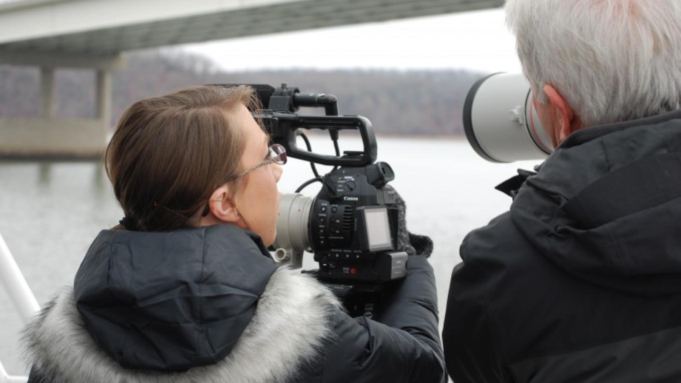 Folks love birding on the Tennessee River, especially in winter.