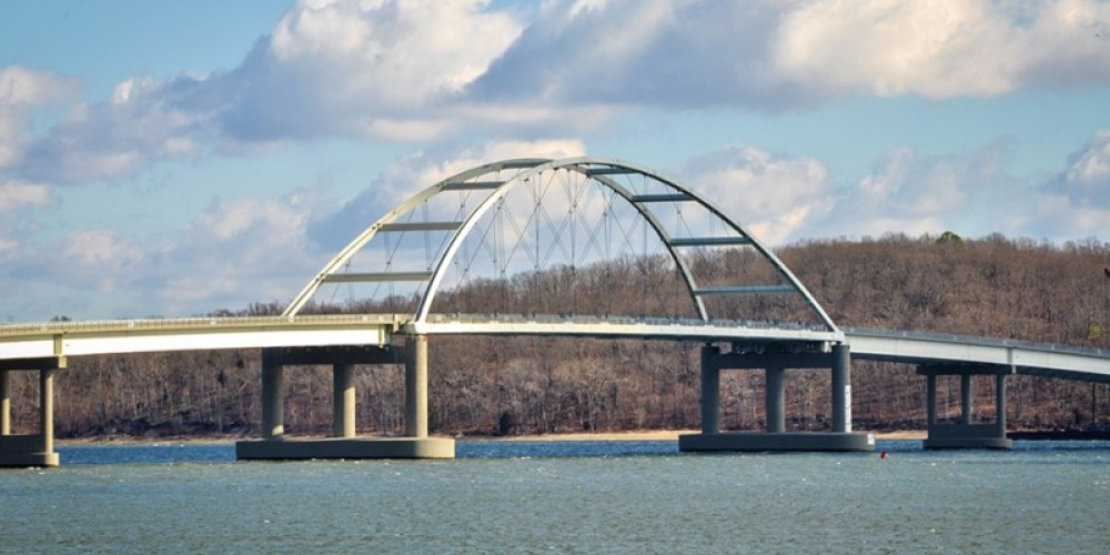 Eggners Ferry Bridge - view from the park – Jeff Russell
