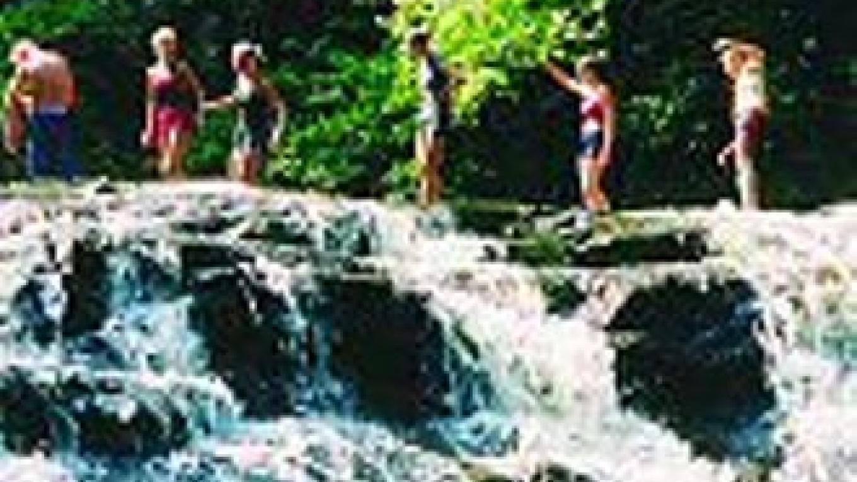 Scenic Waterfall Hiking