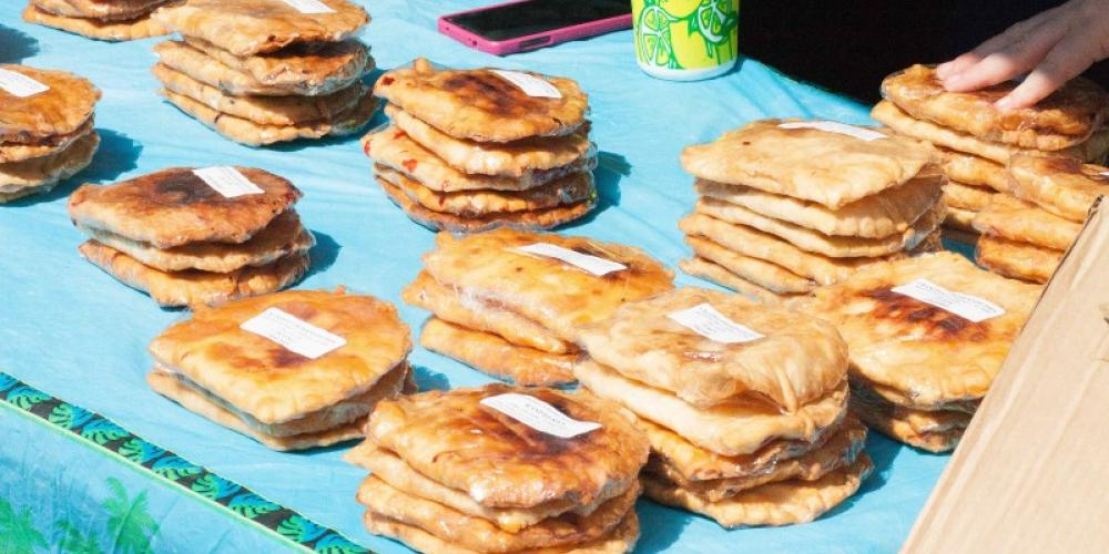 There are plenty of entrees in the Best Fried Pie contest. – Jackie Metcalf