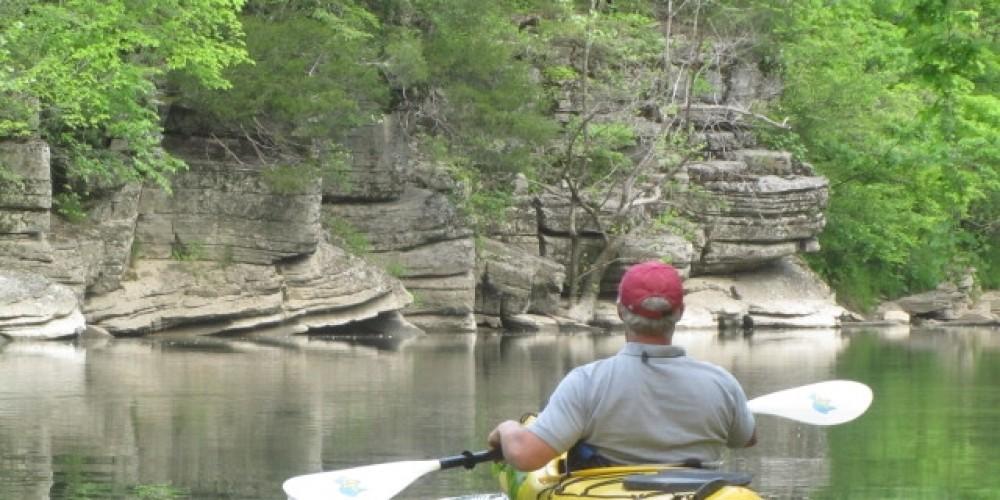 Paddling on the upper Powell River – Patty Bottari
