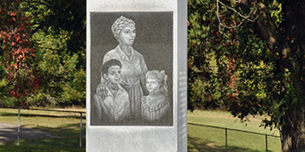 Sadly, this cemetery's African American graves are unmarked. This monument commemorates those individuals and their contributions. – Jean Owens