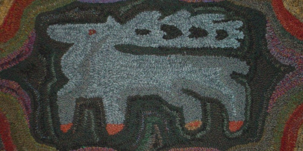 Join us in the spring for our annual hooked rug show and hook-in!