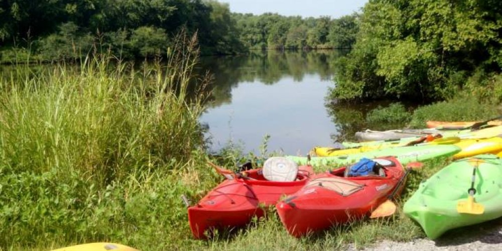The refuge is a great place to kayak and observe nature. – Joan Howe