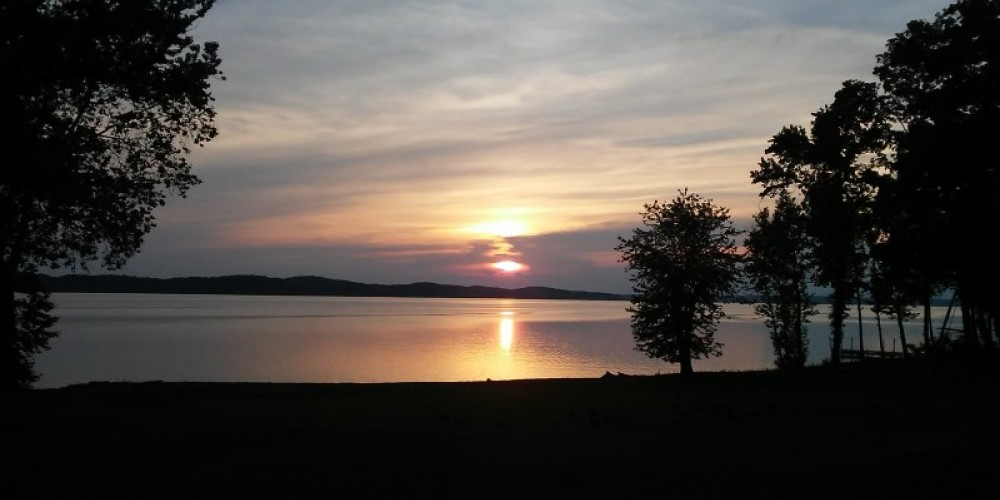 Sunset on Kentucky Lake.  Part of the Land Between the Lakes community. – Don L. Bailey Jr