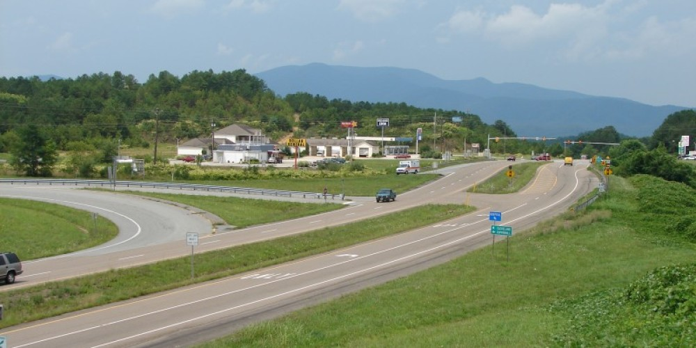 The mountains beckon travelers on U.S. Hwy. 64 heading west from the North Carolina/Ducktown TN side. – Ingrid Buehler