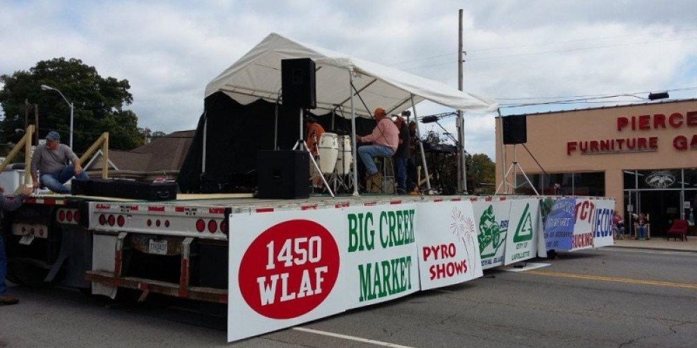 Music from one of our local bands playing at our Big Creek Fall ATV Festival