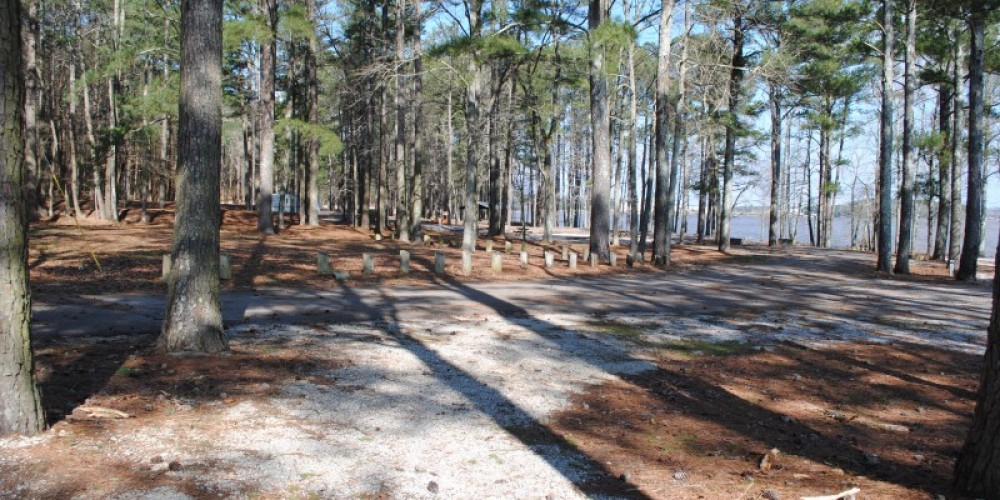Primitive camping area – James Gibson
