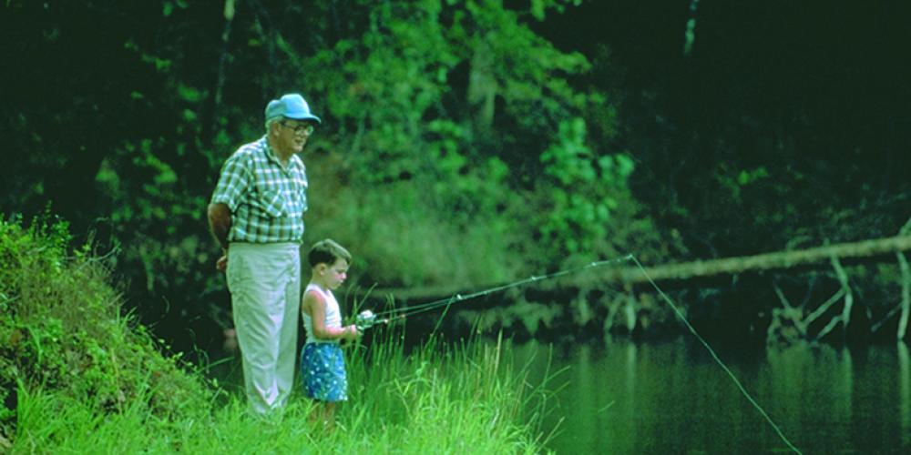 Fishing is popular at Big Ridge State Park – State Photo