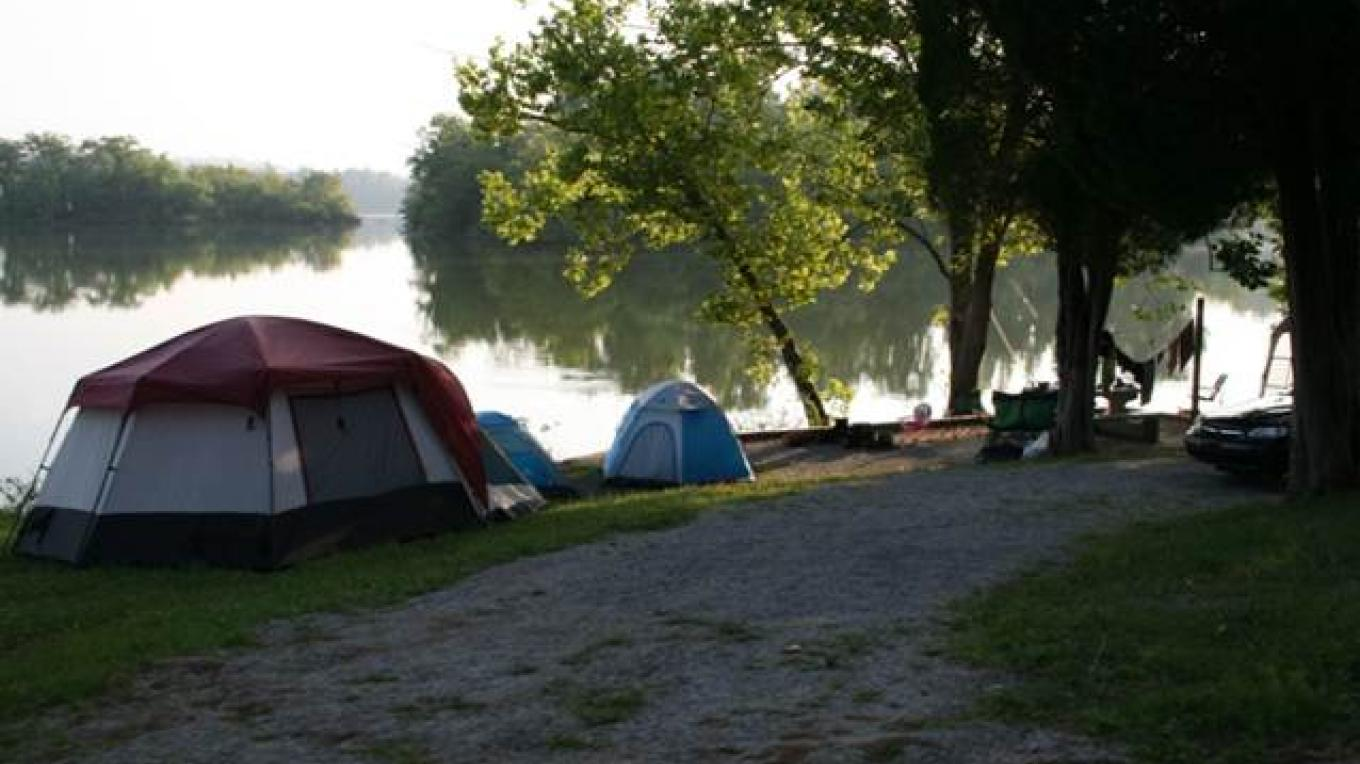 Sites are available for tent camping – Roane County Parks & Recreation