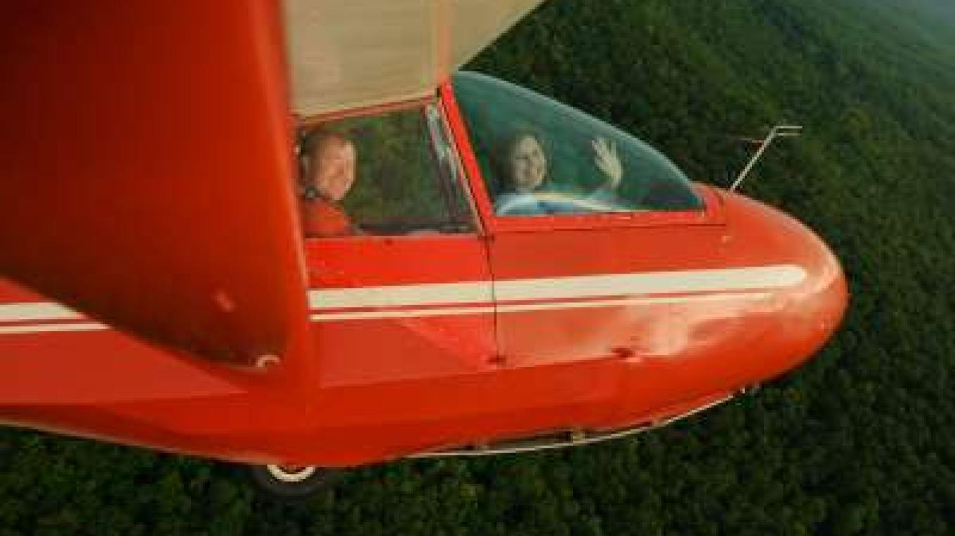 Soaring above Cherokee National Forest – David L. Smith