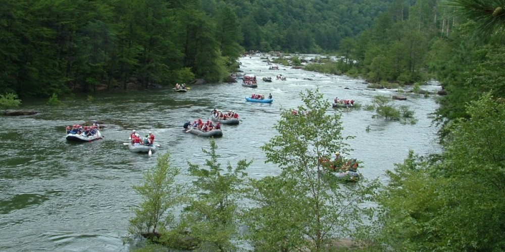 Whitewater Rafting on Ocoee River