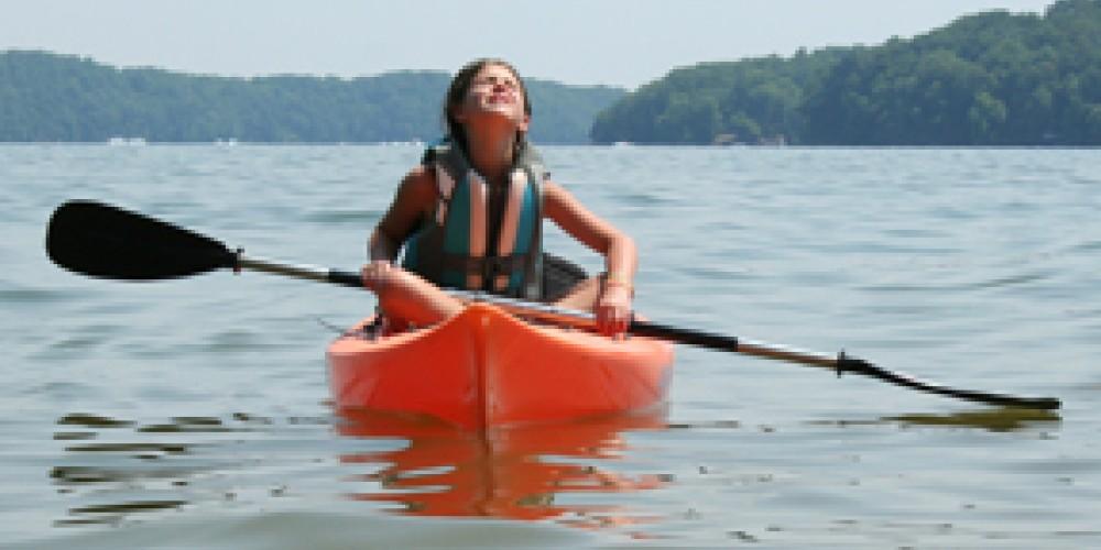 Kayaking on Watts Bar Lake – Pam May