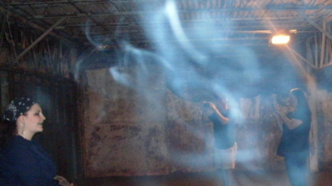Ectoplasm on ghost tour – William England