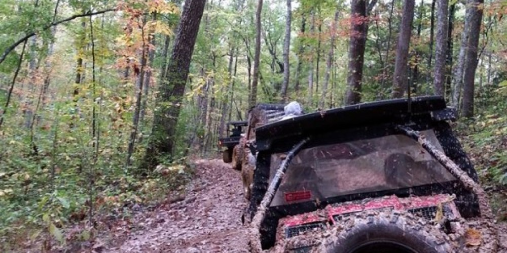 ATV ride on the TWRA trails