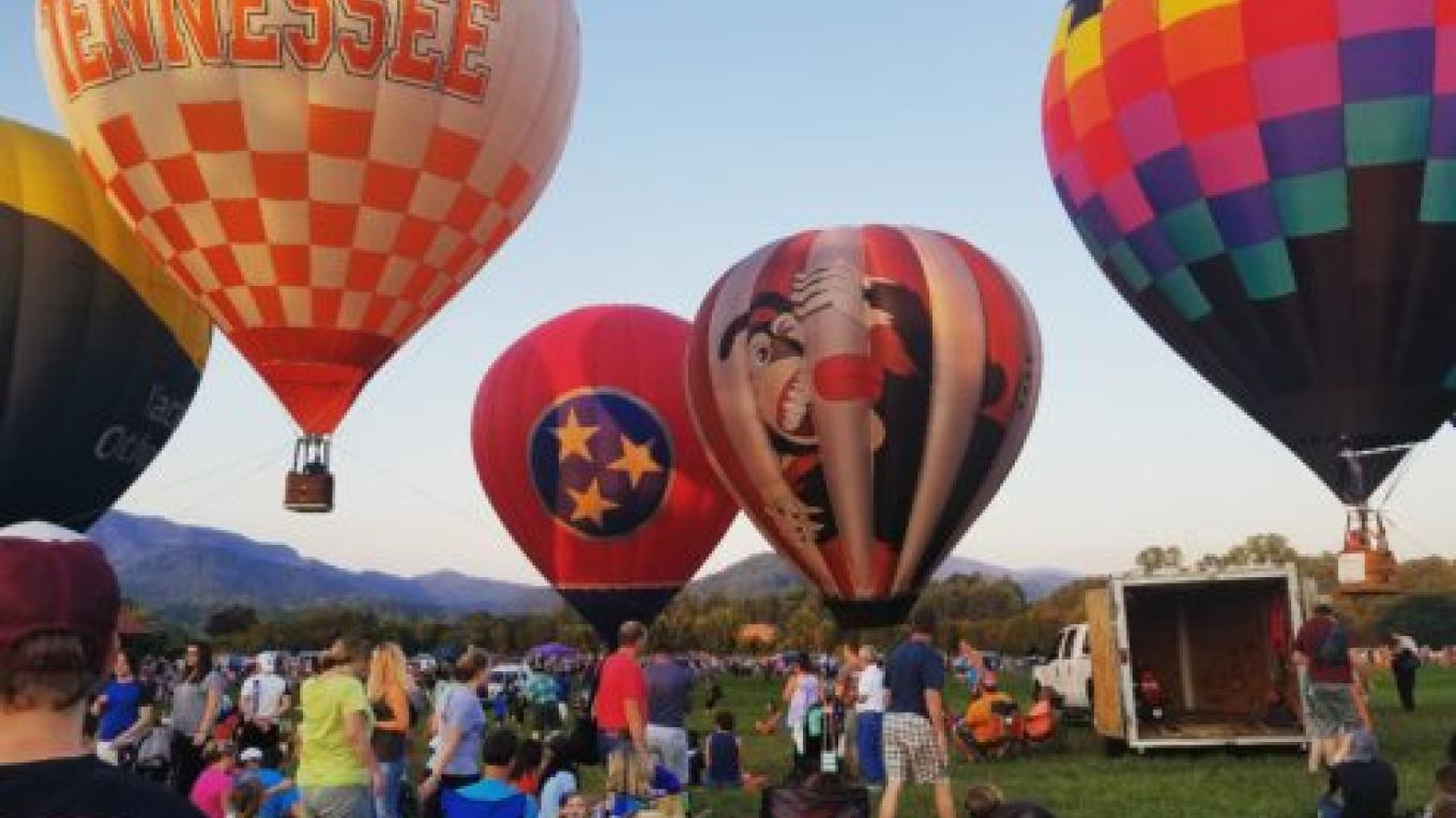 Tethered rides weather permitting. – Great Smoky Mountain Balloon Festival