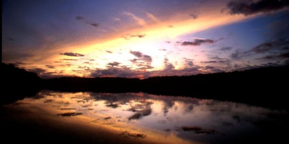 Sunrise at Fall Creek Falls